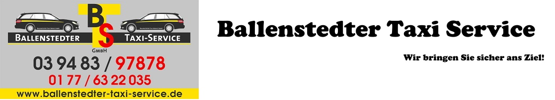 Ballenstedter Taxi Service