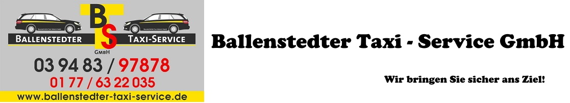 Ballenstedter Taxi - Service GmbH